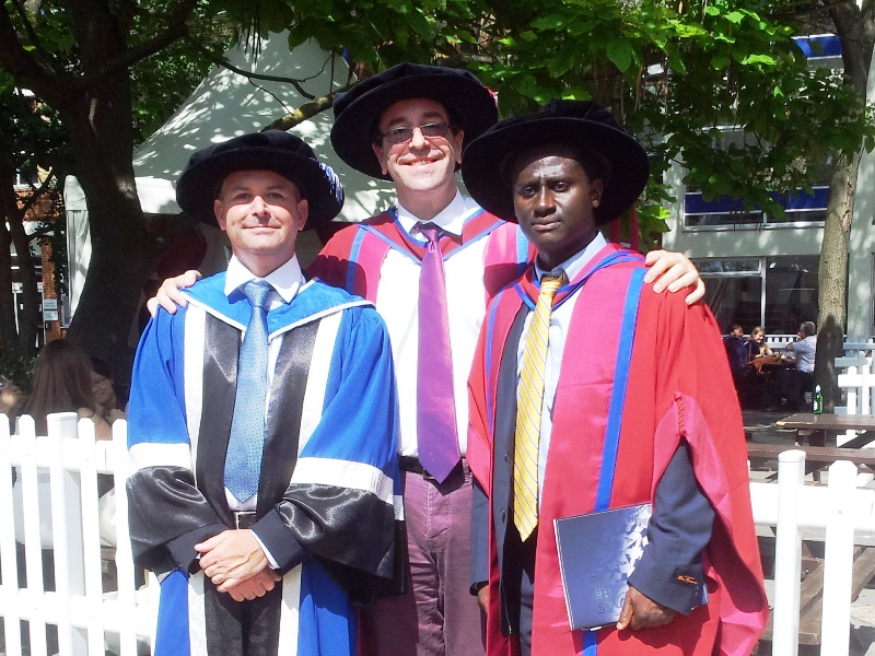 Dr. Rob Shorter, Prof. James Busfield & Dr. Samuel Asare