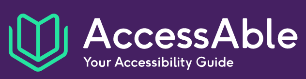 AccessAble Logo and Link to Site