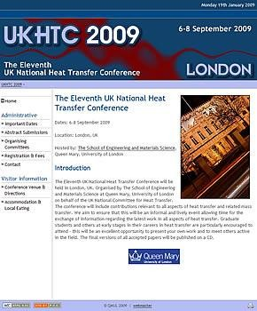 UKHTC 2009: The Eleventh UK National Heat Transfer Conference