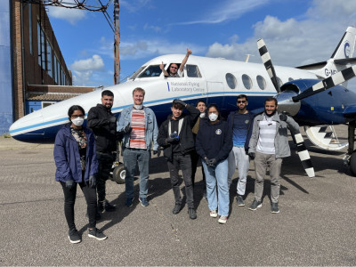 Cranfield flight course successfully carried out this year adapting to …