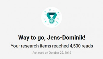 Researchgate congratulates