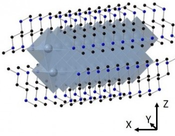 Crystal structure of a 1-dimensional organometal halide semiconductor