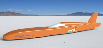 Land Speed Record Challenger Designed by our  former Aerospace Engineering Students