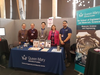 The SEMS team at the event