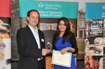 Iffat Patel wins NPL Research Poster Prize