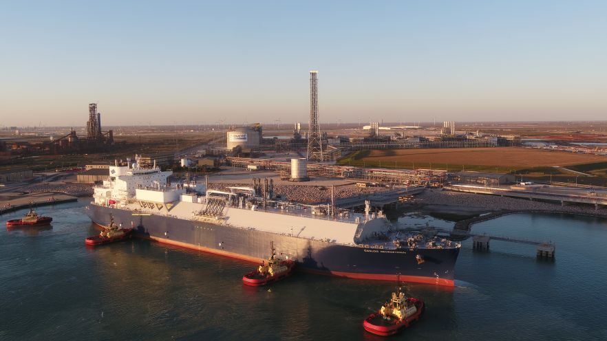 LNG Carrier: the Gaslog Georgetown